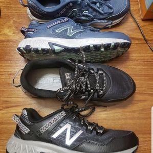 2 pairs New Balance 410 v6 Sz 9 M, Worn